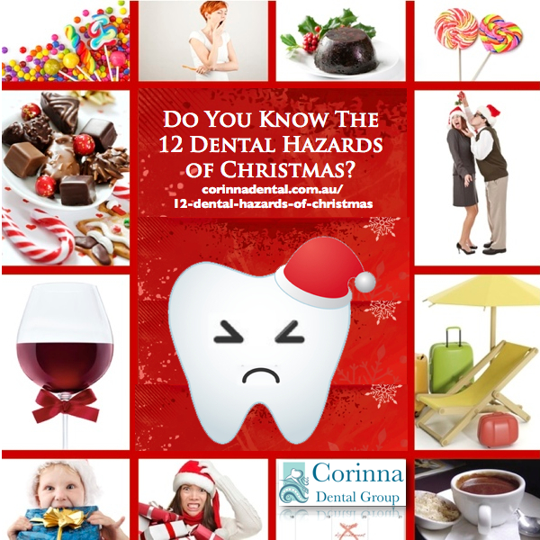 The 12 Dental Hazards Of Christmas