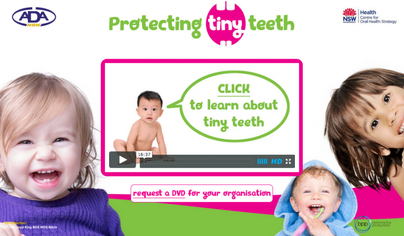 Protecting_Tiny_Teeth_Website_-_Screenshot