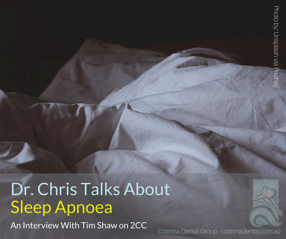 Dr Chris talks about sleep apnoea