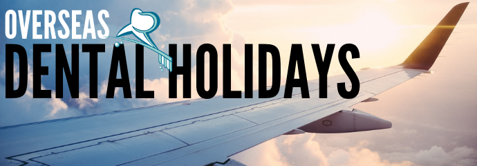 Dental Holidays - The WIng of A Plane