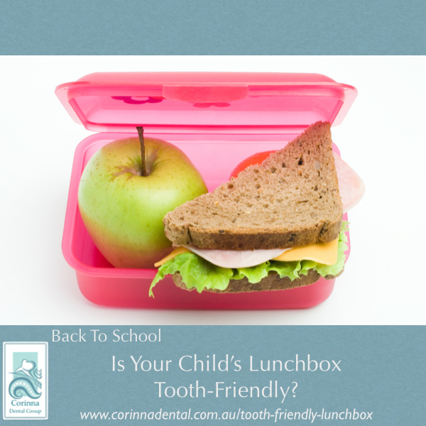 Tooth-friendly lunchbox