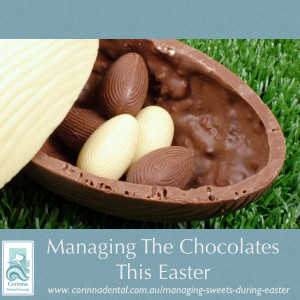 Managing chocolates during Easter