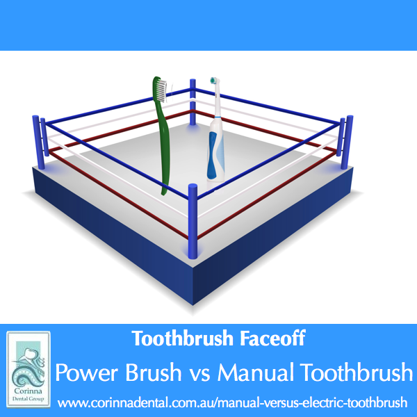 Power vs electric toothbrush