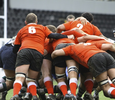 An image of men playing the game of rugby union