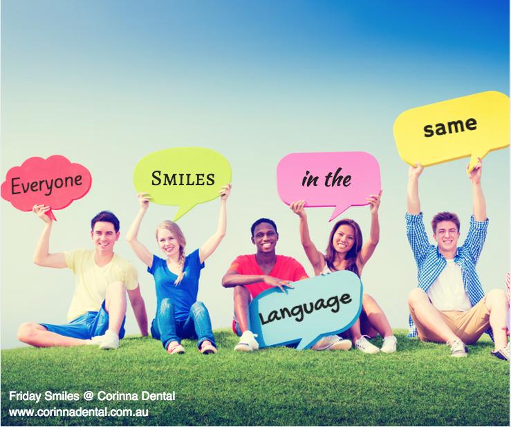 Friday Smiles - Language