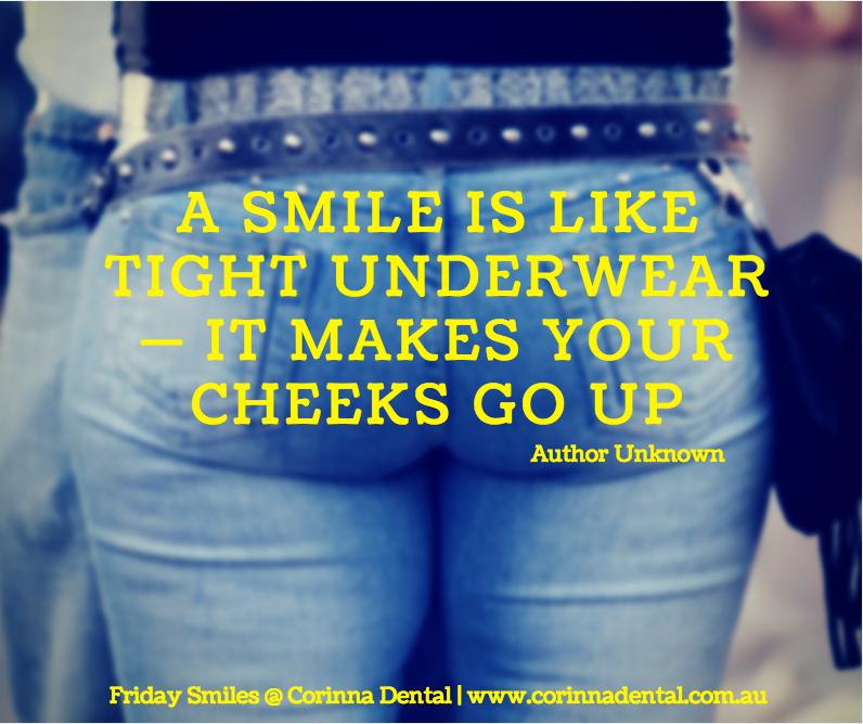 Friday Smiles-Tight pants