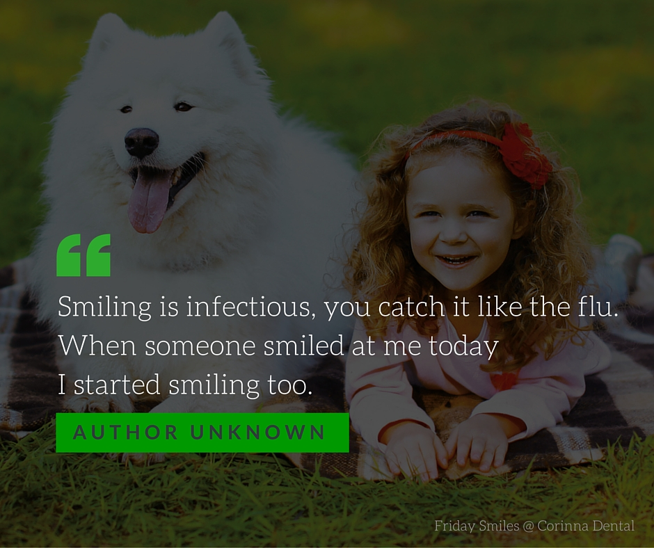 Friday Smiles-Infectious