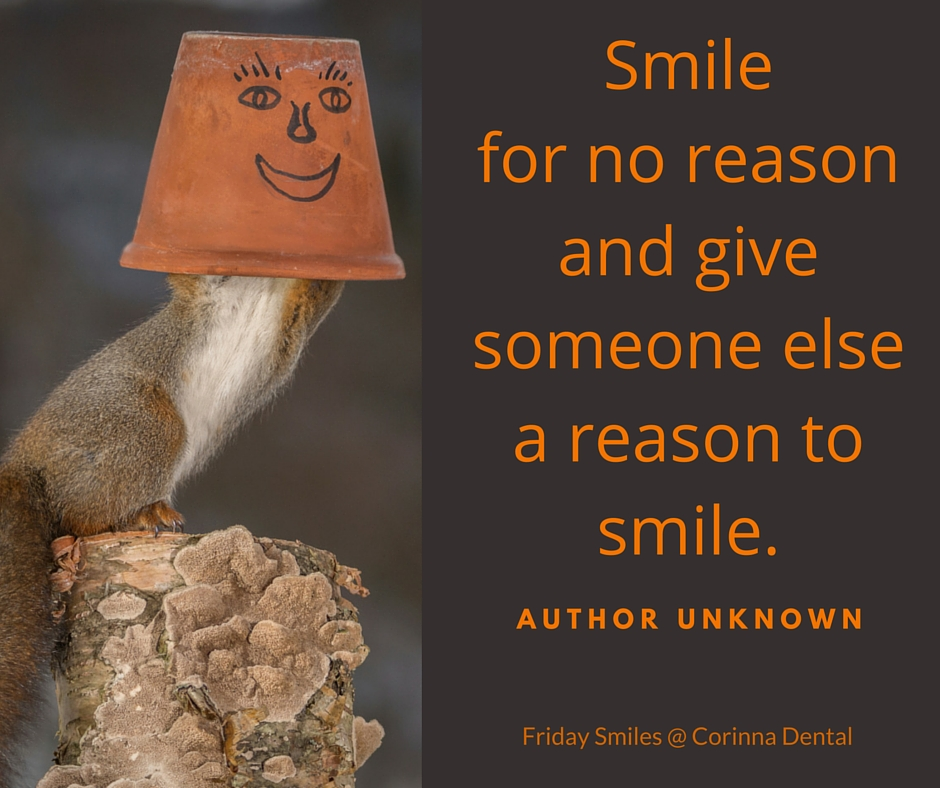 Friday Smiles-smile for no reason