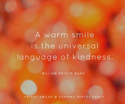 Friday-Smiles-Warm-Smile