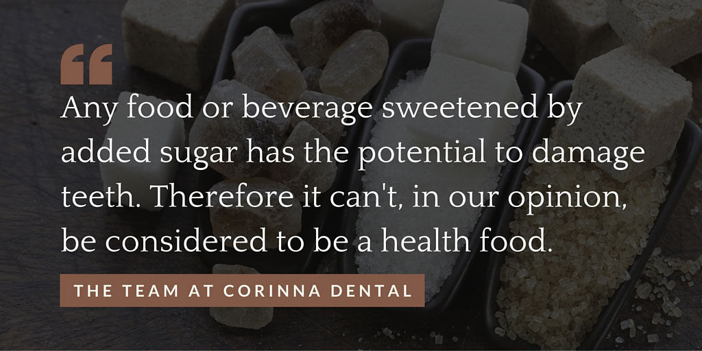 Food-sweetened-by-sugar-cant-be-healthy