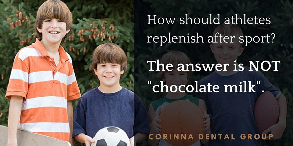 How should athletes replenish